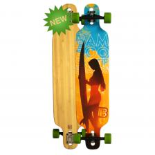 "Longboard Bamboo Paddle Out Completo 40"" x 9,25"""