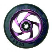 Rueda Ao Delta 5 Hole 110mm Purple