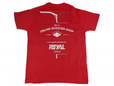 Camiseta Royal Roja Varias Tallas